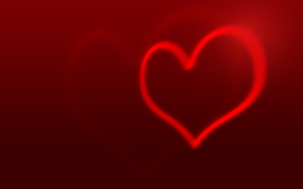 Create an abstract Valentine background with hearts in Adobe Photoshop CS4