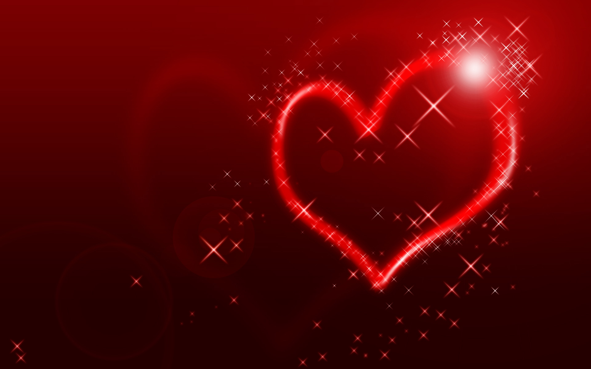 Love Wallpapers Editing : create an abstract Valentine background with hearts ...