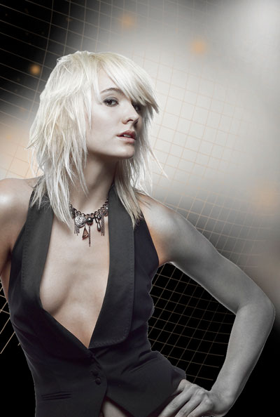 How to create Glowing Fashion Photo Manipulation in Adobe Photoshop CS4