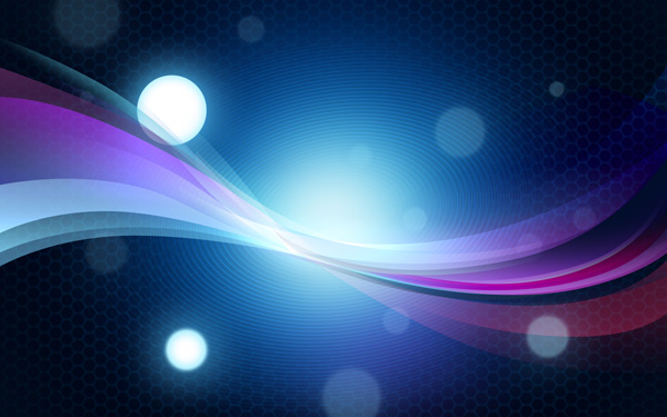 How to create abstract colorful background with bokeh effect in Photoshop CS4