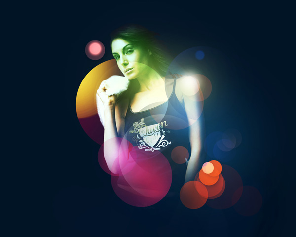 Create Beautiful Abstract Female photo illustration in Adobe Photoshop CS5