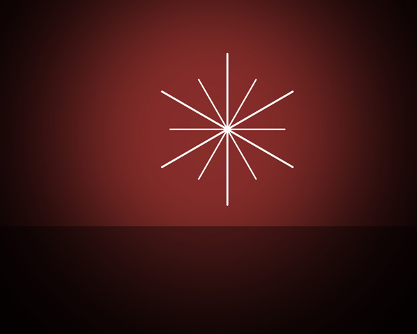 Create a Christmas Card – Christmas tree on red background in Adobe Photoshop CS5