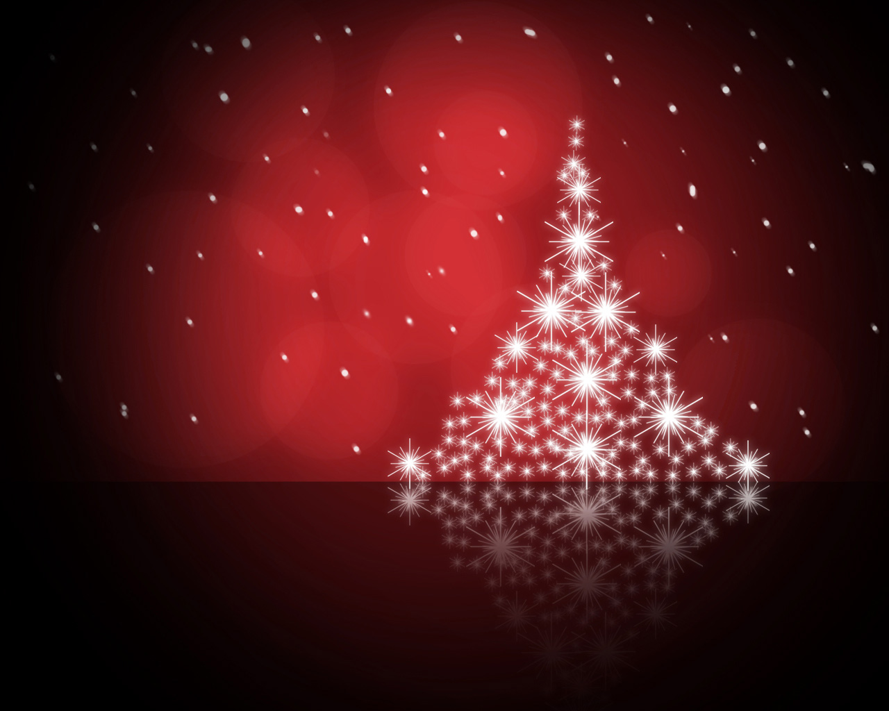 red christmas tree background - photo #9