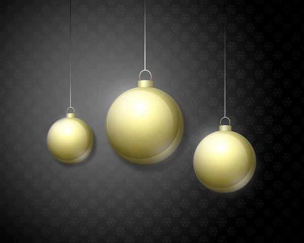 How to create stylized greeting card with Christmas baubles in Adobe Photoshop CS5