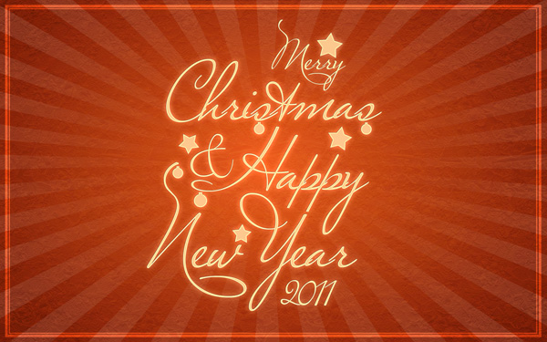 how to create happy new year 2011 greeting card in adobe photoshop cs5