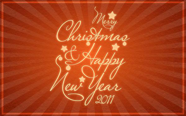 [Tutorial] Tarjeta de felicitación de año nuevo [Photoshop