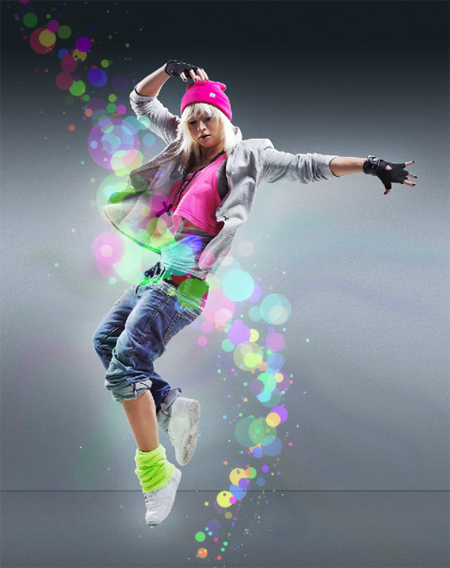 Apply a Fantastic Lighting and Coloring Effect on Images with Photoshop CS5