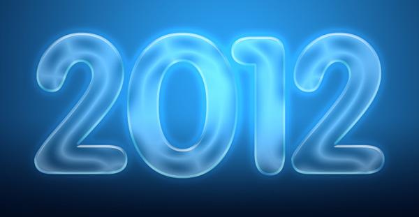 14 Criar um cartão de Ano novo 2012 | Photoshop CS5