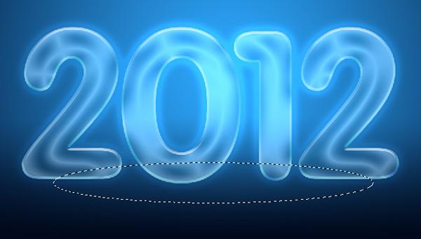 15 Criar um cartão de Ano novo 2012 | Photoshop CS5