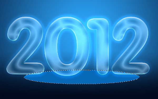 How to create an Impressive New Year 2012 card with Neon text in Photoshop CS5