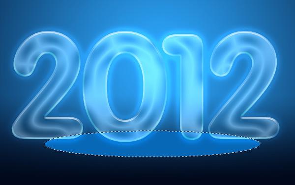 16 Criar um cartão de Ano novo 2012 | Photoshop CS5