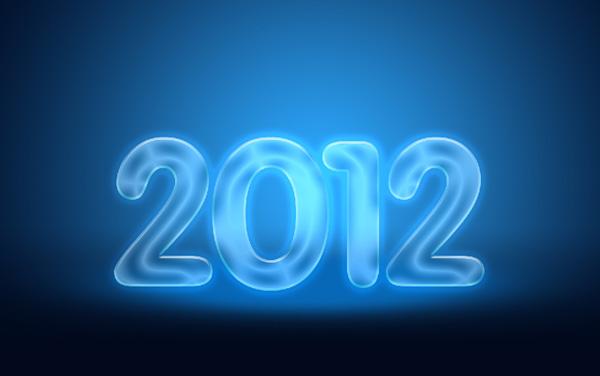 19 Criar um cartão de Ano novo 2012 | Photoshop CS5