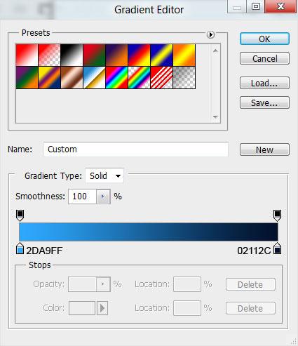 2 Criar um cartão de Ano novo 2012 | Photoshop CS5
