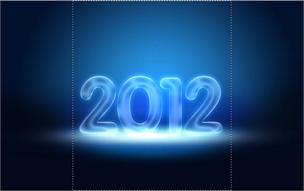 25 Criar um cartão de Ano novo 2012 | Photoshop CS5