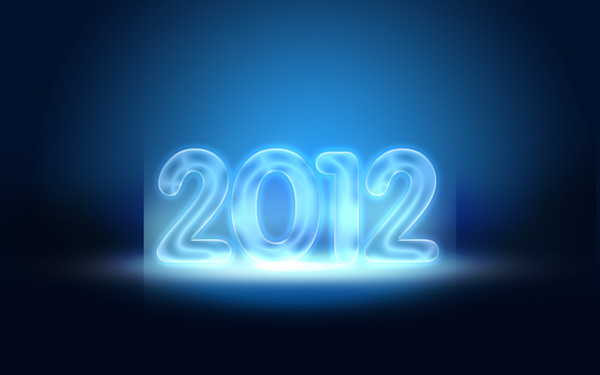 27 Criar um cartão de Ano novo 2012 | Photoshop CS5