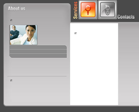 Create Professional Web Layout for Business Company in Photoshop CS