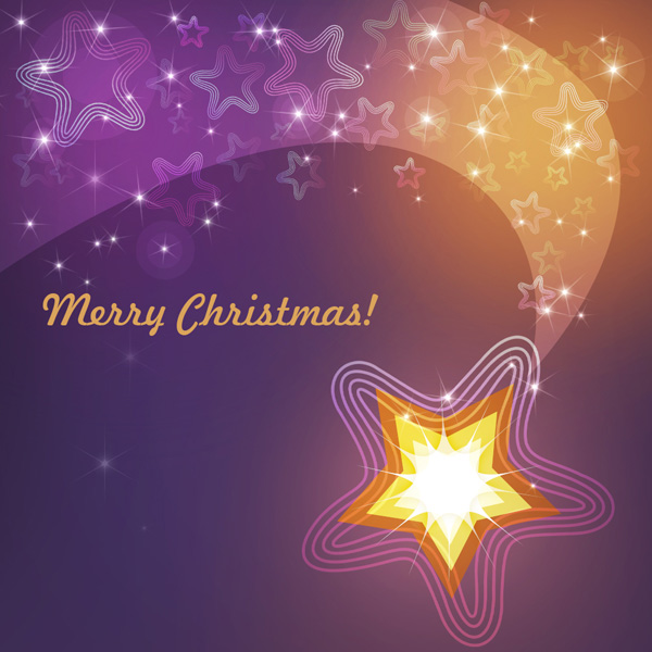 How to create Festive Christmas card with Shining Decorative Star in Photoshop CS5