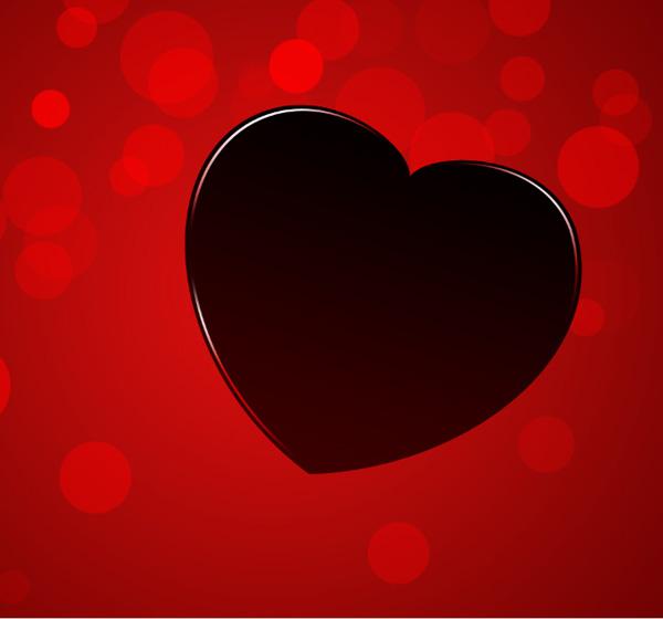 Сделайте еще одну копию слоя первого сердца и удалите стиль Gradient Overlay стиль после копирования.