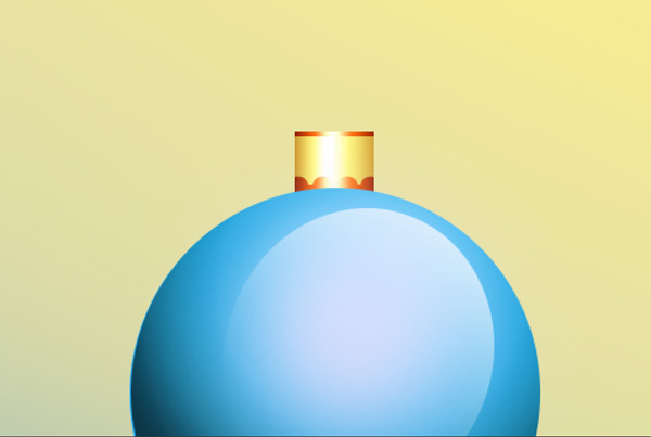 How to Create Christmas Greeting Card with Blue Christmas balls in Adobe Photoshop CS6