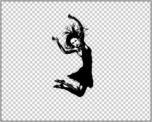 create a rainbow girl illustration in photoshop cs
