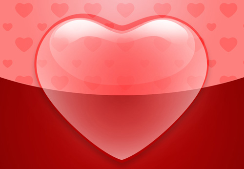 How to Create Elegant Valentine's Day Greeting Card with Abstract Hearts in Adobe Photoshop CS6