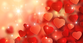 How to Create Amazing Valentine's Day Background with Abstract Hearts in Adobe Photoshop CS6