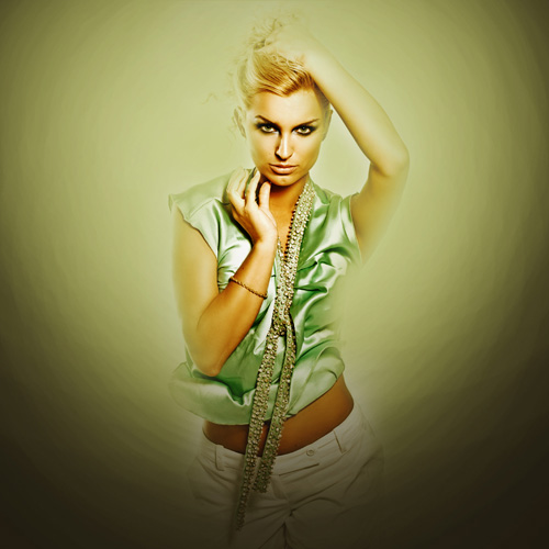 Creative mixed-media composition in Adobe Photoshop CS5 10