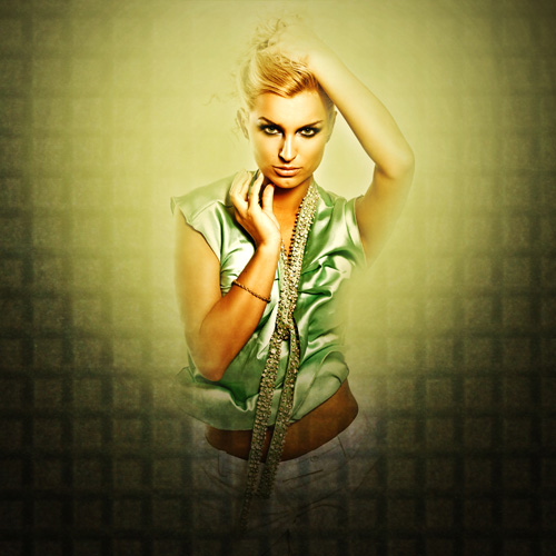 Creative mixed-media composition in Adobe Photoshop CS5 17