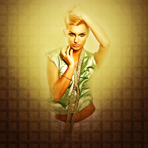 Creative mixed-media composition in Adobe Photoshop CS5 19
