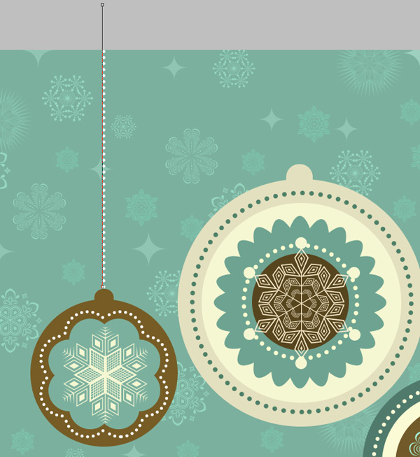How to create Vintage New Year Card with Christmas Decorations in Adobe Photoshop CC