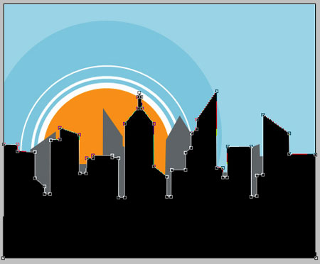 Create Illustrated City in Photoshop CS