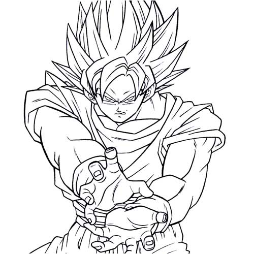 Dragon Ball Z Drawings. from DragonballZ, Goku,