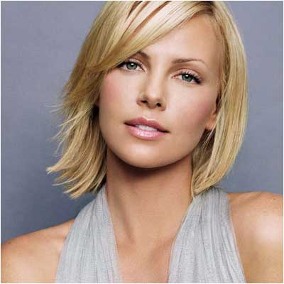 charlize theron wallpaper. Charlize Theron - Glossy Lips