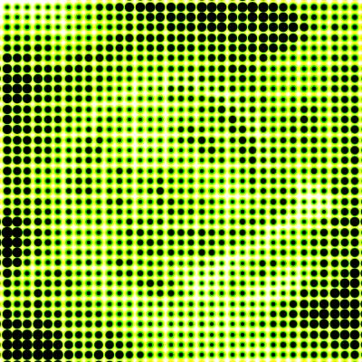 Color Halftone in Adobe Photoshop CS