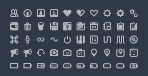 Batch – 300 Pictographs for Web & User Interface Design