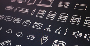 Free 60 Unique Outlines Icons by Lubos Volkov