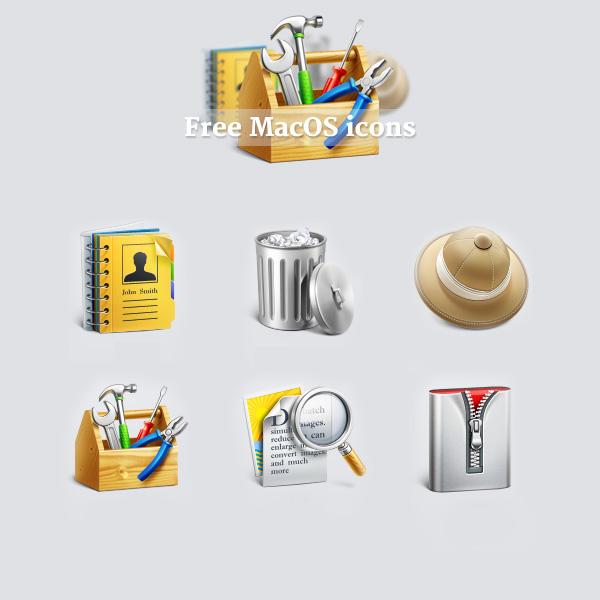 Free custom MacOS icons