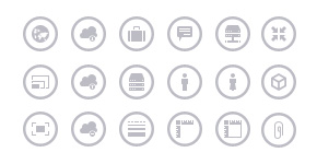 Free Collection of 300 Metro-Style Icons for Designers and Developers