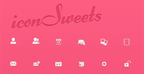 iconSweets 60 Free Vector (PSD) Icons