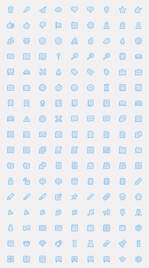 Juicicons - A Juicy & Delicious Icon Set
