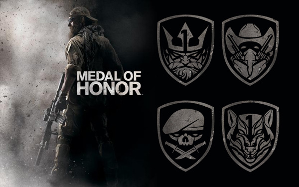 Medal of Honor AFO Teams Emblems (CSH)