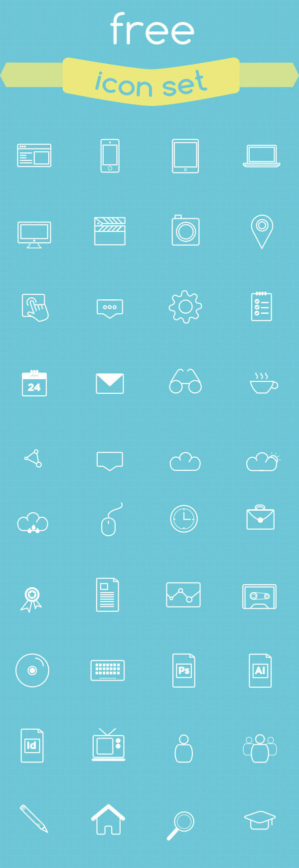 PAGE - Free Vector Icon Set