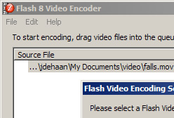 The stand-alone Flash 8 Video Encoder includes the On2 VP6 codec, which produces high-quality FLV files.