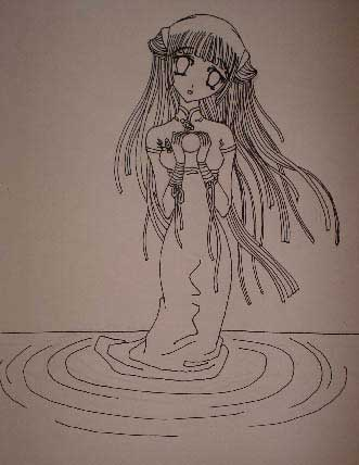 Water Angel Nymph Anime Picture   Photoshop Tutorials ...
