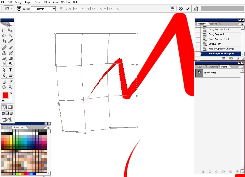 photoshop brush straight and the curve how to turn off
