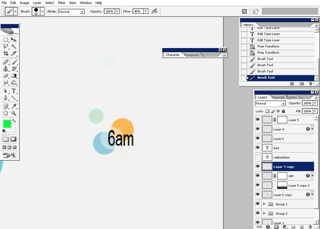 mini logo stylistic challenge tutorial