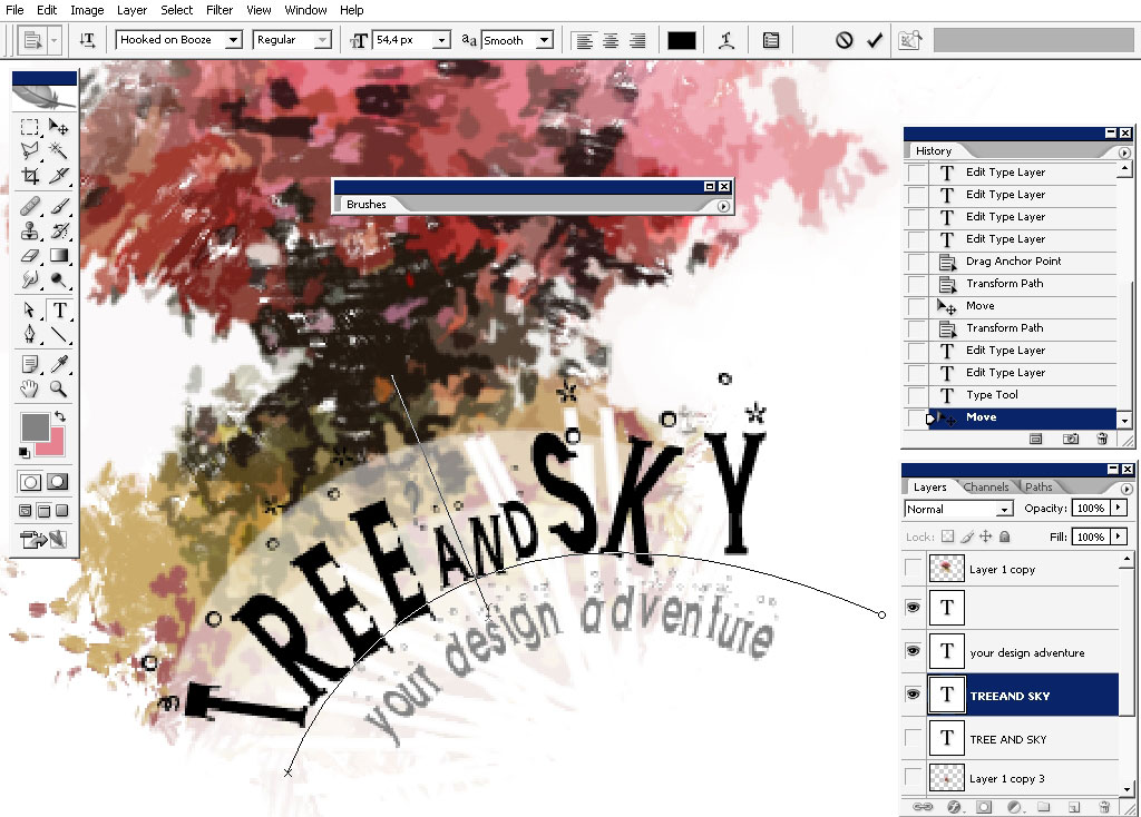 Tree and Sky - your design adventure