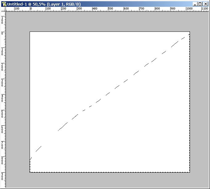 how to make smooth diagonal lines in photoshop