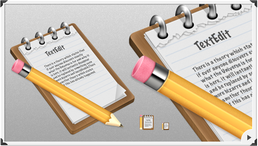 Download the TextEdit icon