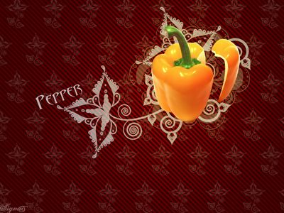 Pepper Wallpaper